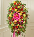 Bright Flower Sympathy Arrangement