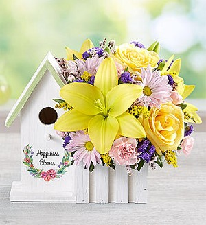 Happiness Blooms™ Birdhouse